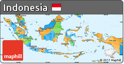 malaysia indonesia simple political map - photo #28