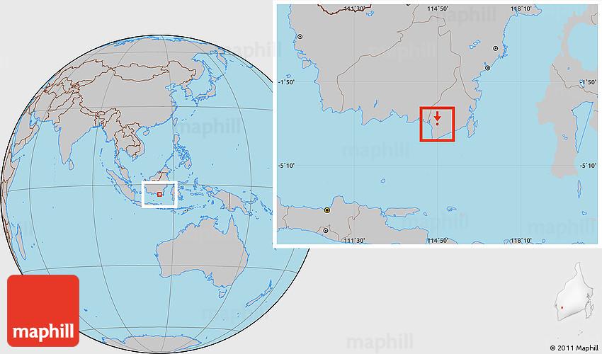 Where is Banjarmasin | Metro Map | Bus Routes | Metrobus Way Map ...