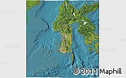 Satellite 3D Map of South Sulawesi