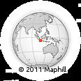 Outline Map of Kab. Bandung