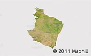 Satellite 3D Map of Kab. Bekasi, cropped outside