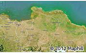 Satellite 3D Map of Kab. Bekasi