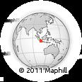 Outline Map of Kab. Bekasi