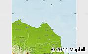 Physical Map of Kab. Indramayu