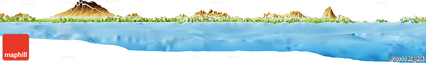Physical Horizon Map of Kab. Bima