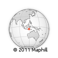 Outline Map of Kab. Bima