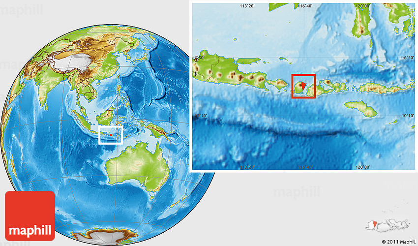 Physical location map of kab lombok timur 2d gumiabroncs Image collections