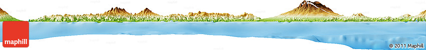 Physical Horizon Map of Kab. Sumbawa