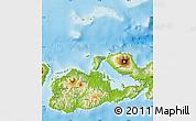 Physical Map of Kab. Sumbawa