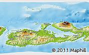 Physical Panoramic Map of Kab. Sumbawa