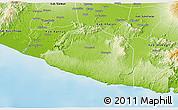 Physical 3D Map of Kab. Gunung Kidul