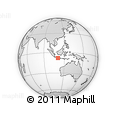 Outline Map of Kab. Gunung Kidul
