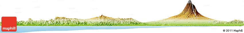 Physical Horizon Map of Kab. Kulon Progo