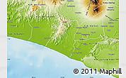 Physical Map of Kab. Kulon Progo