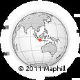 Outline Map of Kab. Kulon Progo