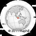 Outline Map of Yogyakarta