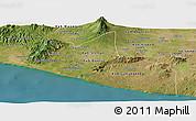 Satellite Panoramic Map of Yogyakarta