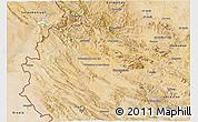Satellite 3D Map of Bakhtaran