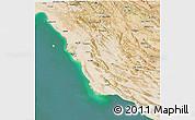 Satellite 3D Map of Bushehr