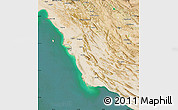 Satellite Map of Bushehr
