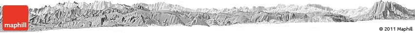 Gray Horizon Map of Chaharmahal and Bakhtiar