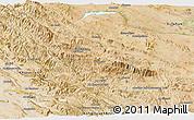 Satellite Panoramic Map of Chaharmahal and Bakhtiar