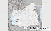 Gray Map of East Azarbayejan
