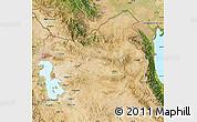 Satellite Map of East Azarbayejan