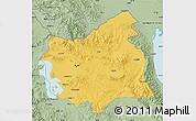 Savanna Style Map of East Azarbayejan