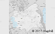 Silver Style Map of East Azarbayejan