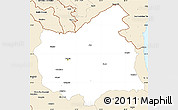 Classic Style Simple Map of East Azarbayejan