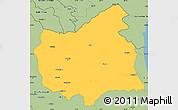 Savanna Style Simple Map of East Azarbayejan