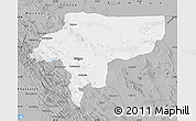Gray Map of Esfahan