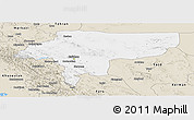 Classic Style Panoramic Map of Esfahan