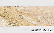 Satellite Panoramic Map of Esfahan