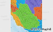 Political Map of Fars