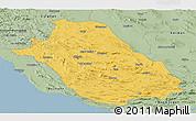 Savanna Style Panoramic Map of Fars