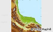 Physical Map of Gilan