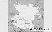 Gray 3D Map of Hamadan