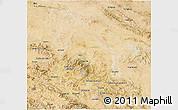 Satellite 3D Map of Hamadan