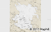 Classic Style Map of Hamadan