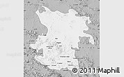 Gray Map of Hamadan
