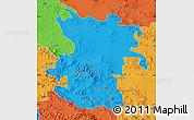 Political Map of Hamadan