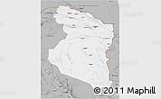 Gray 3D Map of Horasan