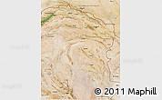 Satellite 3D Map of Horasan