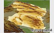 Physical Panoramic Map of Horasan, darken