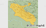 Savanna Style 3D Map of Ilam
