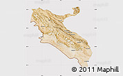 Satellite Map of Ilam, cropped outside