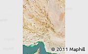 Satellite Map of Kerman