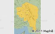 Savanna Style Map of Kerman